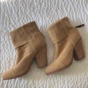 Rag & bone beige / light brown booties